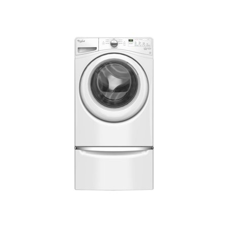 Whirlpool WFW75HEFW - Washing machine - freestanding - height: 39 in - front loading - 4.5 cu. ft - white