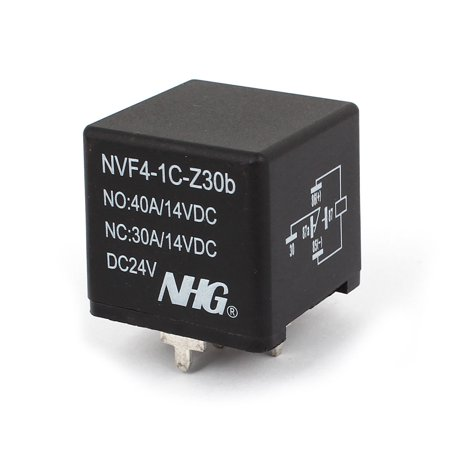 (Auto Car DC 24V Coil SPDT Electric Power Relay NVF4-1C-Z30b)