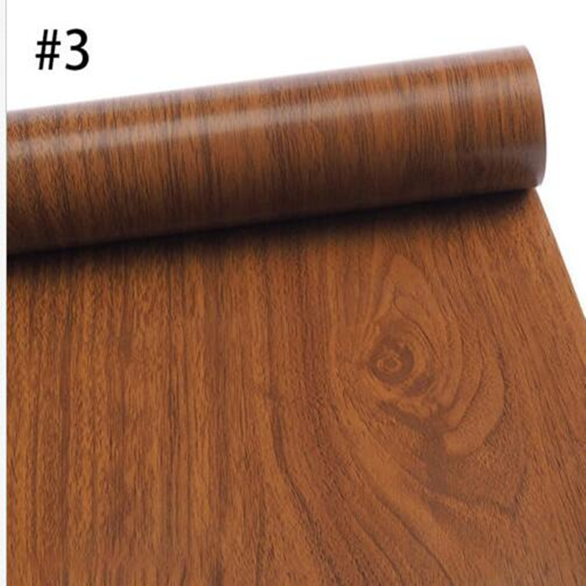 Delicieux Wood Grain Contact Paper Self Adhesive Vinyl Shelf Liner Covering For  Kitchen Countertop Cabinets Drawer Furniture Wall Decal