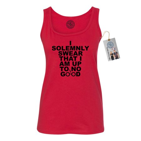 Harry Potter I Solemnly Swear Movie Saying Womens Tank Top Shirt ()