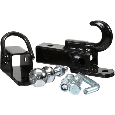 Atv Hitch (Komodo ATV Accessories 3-Way Utility Hitch 5 pc)
