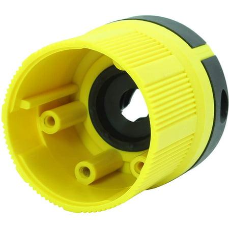 Journeyman-Pro 30 Amp, Plug & Connector Set, NEMA TT-30P + TT-30R, 125V, Straight Blade RV Trailer Plug Connector - image 2 of 5