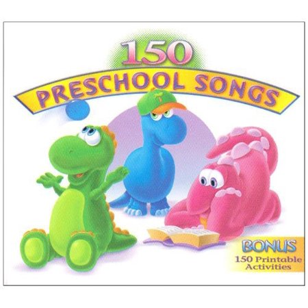 150 Preschool Songs (CD) (Digi-Pak)](Simple Halloween Songs For Preschool)