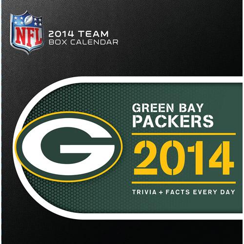 Turner Licensing Green Bay Packers 2014 Box Calendar