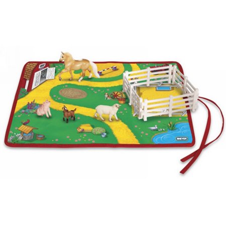 Breyer Horses Breyer Stablemate Roll and Go Farm Playset