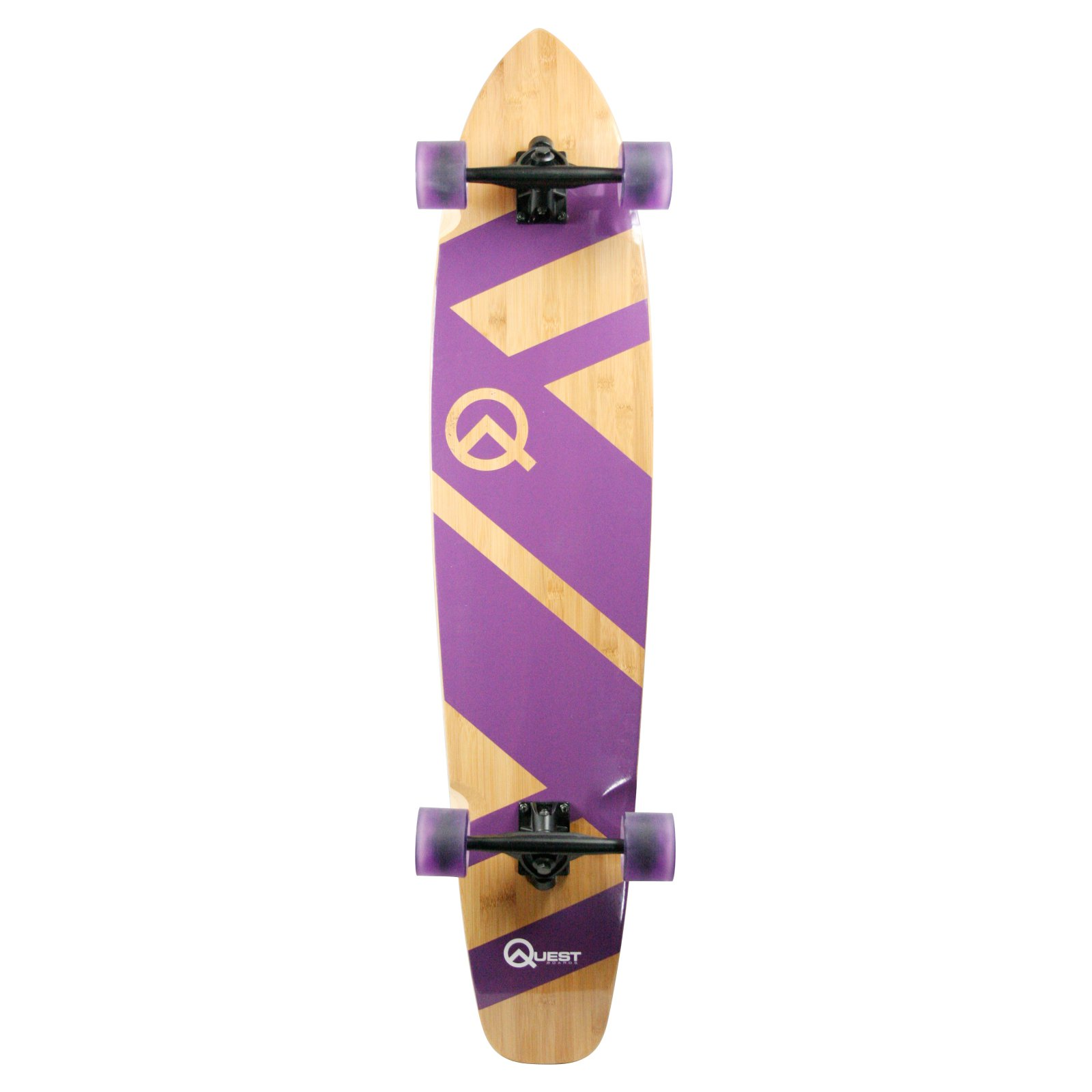 Made in Mars Quest Maxi Cruiser Skateboard Longboard by Overstock