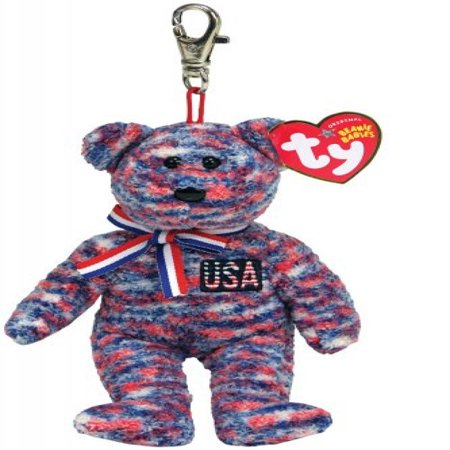 Ty USA - Bear Keychain