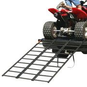 "Black Widow 74"" Portable Steel Tri-Fold ATV Loading Ramp"