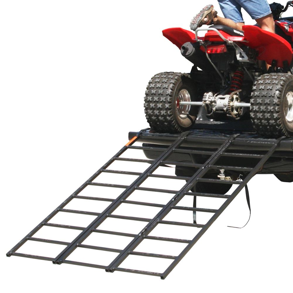 "74"" Portable Steel Tri-Fold ATV Loading Ramp"
