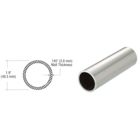 Schedule 40 Tubing - CRL Polished Stainless 1-1/2