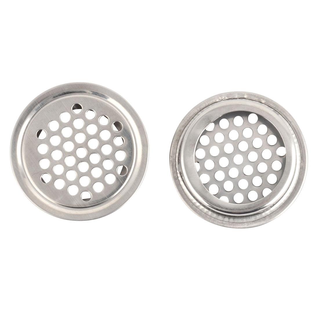Cuisine salle bain évier forme ronde métal bouchon filtre crépine bassin pot 2pcs