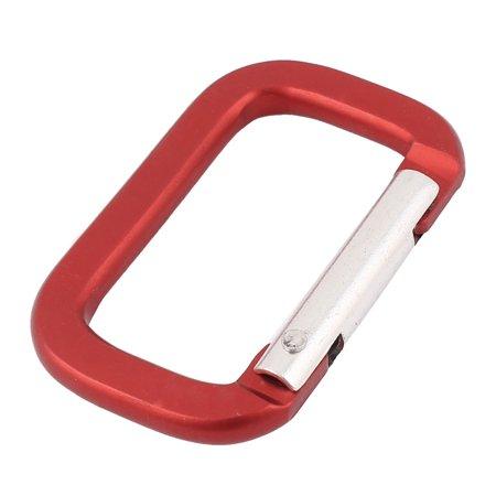 Camping Hiking Sport Karabiner Carabiner Clip Snap Hook Keychain Keyring Red Clip Sport Ball Keychains