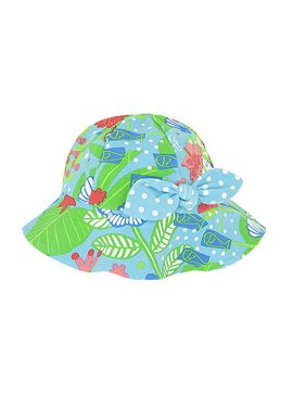 7083054a9e962 Product Image Le Top Island Dreams Sunhat with Bow 12-24 months