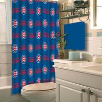 "MLB Chicago Cubs 72"" x 72"" Shower Curtain, 1 Each"