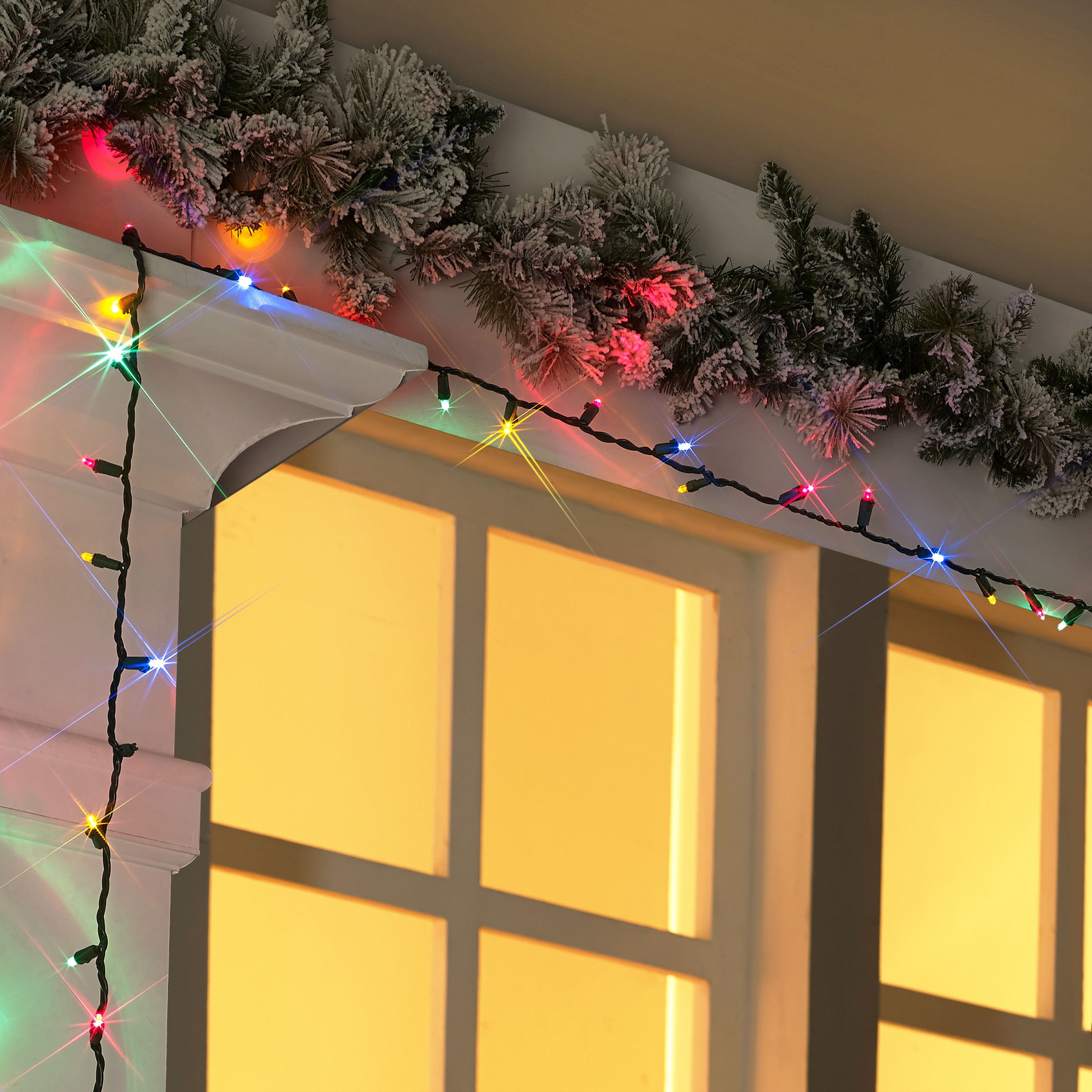 Holiday Time Indoor Outdoor Led Multicolor Mini Lights 54 240 Count
