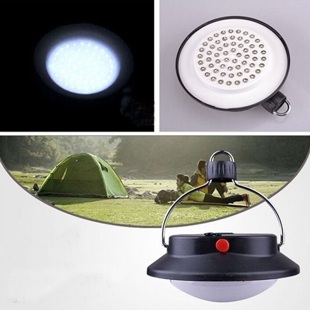 60 LED Hiking Camping Outdoor Light Portable Tent Lamp Lantern SMT