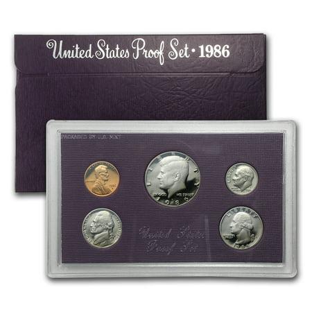 1986 Us Mint Set - 1986 U.S. Proof Set