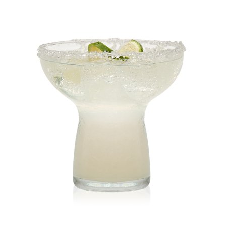 Hand Blown Margarita Glasses (Libbey Stemless Margarita Glasses, Set of)