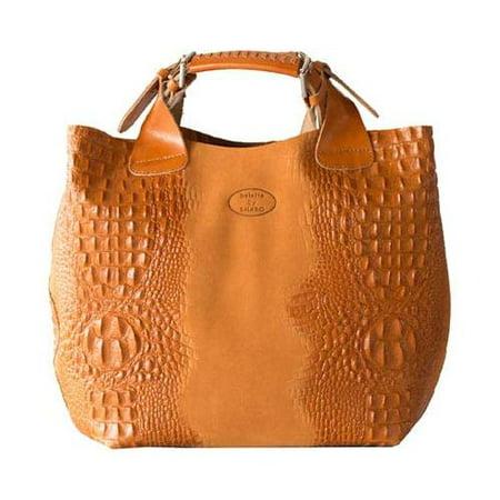 Women S Sharo Genuine Leather Bags Deleite Medium Tote Handbag Apricot Osfa