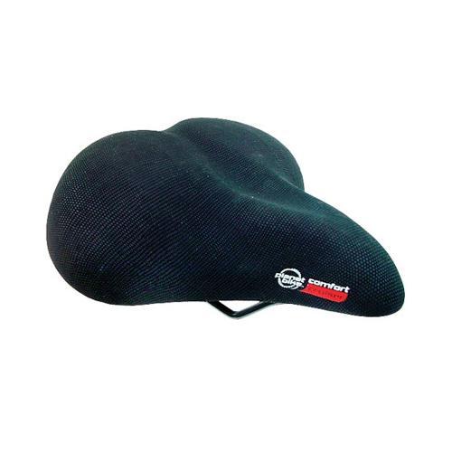 Planet Bike Unisex Comfort Web Spring Cruiser Bicycle Saddle - Black - 5004