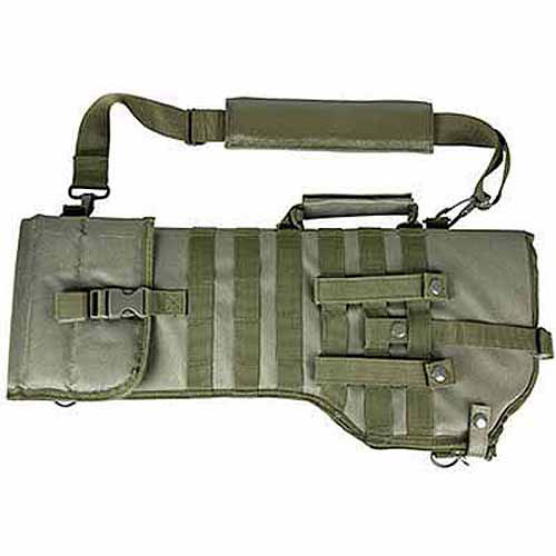 NcStar Tactical Rifle Scabbard, Green