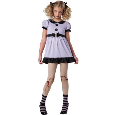 Costumes Tyler Tx (Tween Dead Dolly Girl Costume by Incharacter Costumes LLC)