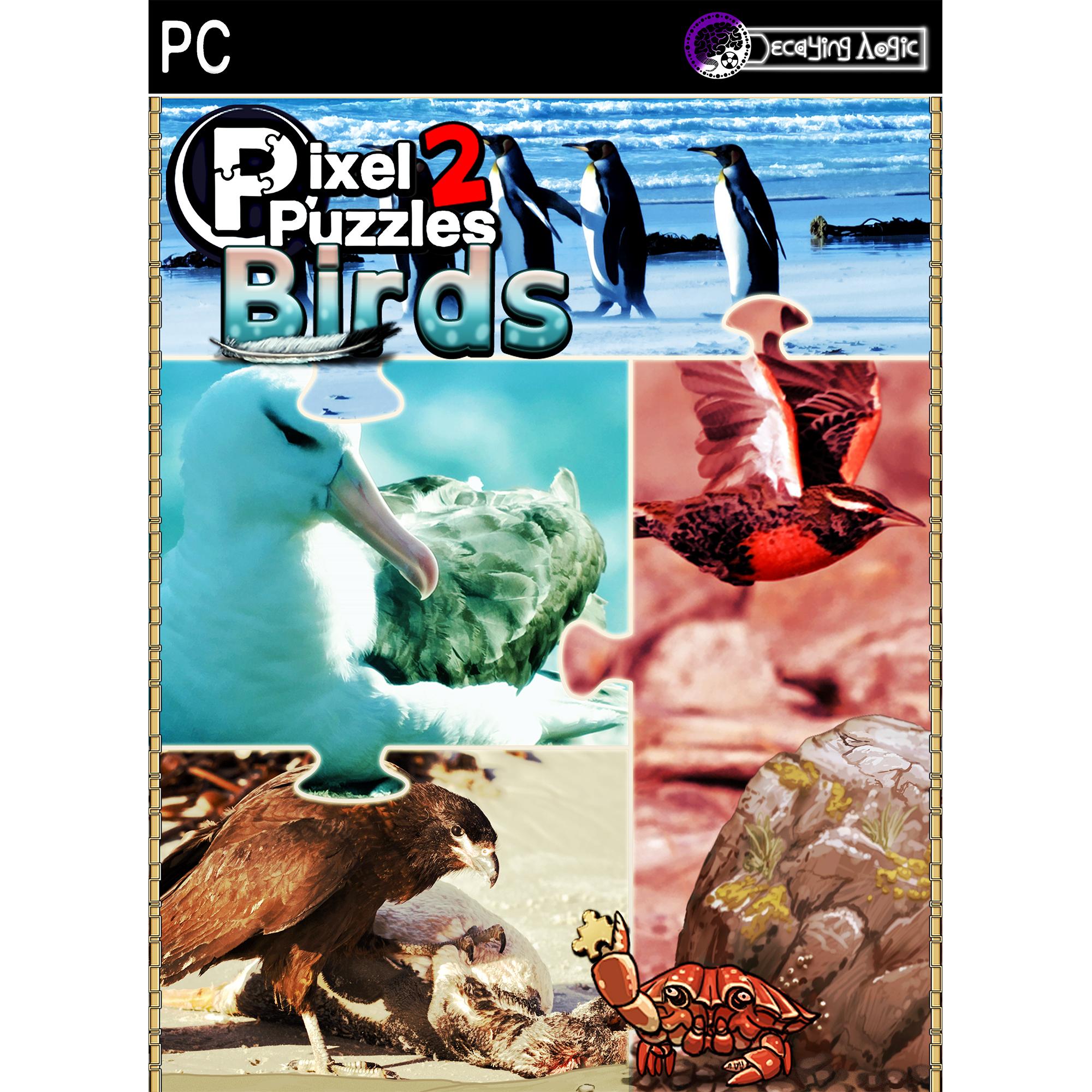 Pixel Puzzles 2: Birds (PC)(Digital Download)