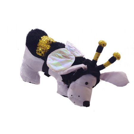 LED Bee Pet Costume for Dogs, 2 Piece Set, (Medium), 2 Piece LED Bee Dog Costume: Head piece, and body costume By Target Ship from US - Target Post Halloween Sale