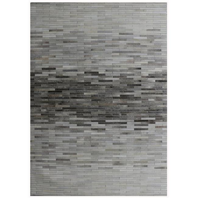 Pasargad PTX-1960 9x12 8 ft. 9 in. x 11 ft. 9 in. Cowhide & Hand-Loomed Sari Silk Area Rug