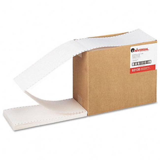 Universal 63135 Continuous Unruled Index Cards  3 x 5  White  4000 per Carton - image 1 of 1