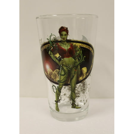 Pint Glass - Arkham - Poison Ivy Toon Tumbler 16oz Cup New Toys