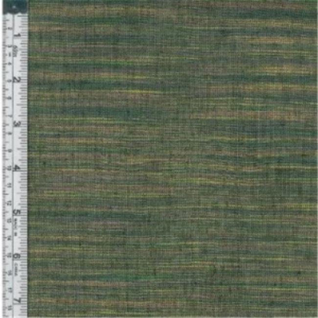 Textile Creations WR-002 Winding Ridge Fabric, Purple And Green Ikat With Slub, 15 yd.