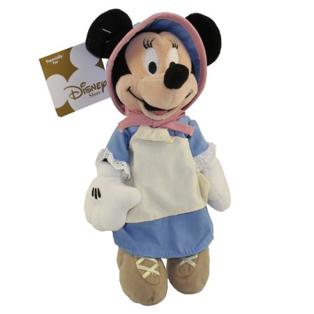 Disney Bean Bag Plush Pioneer Minnie Mouse Americana