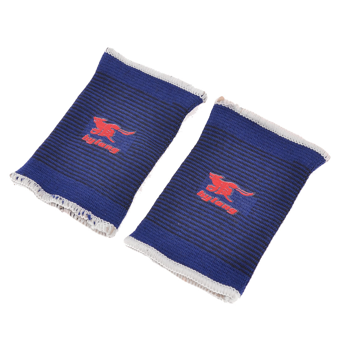 2 Pcs Basketball Tennis Elastic Wrist Brace Support Sweat Band Unisex