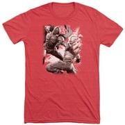 Dark Knight Rises Final Fight Mens Tri-Blend Short Sleeve Shirt