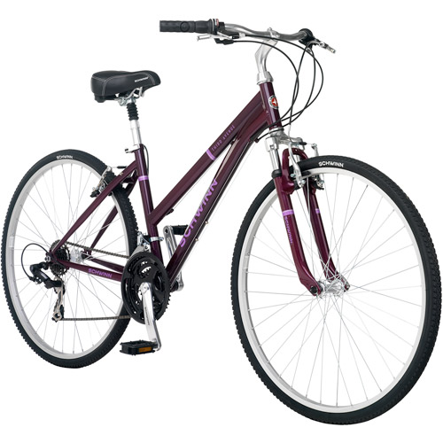 700c Schwinn Third Avenue Women's Hybrid Bike, Plum