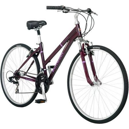 700c Schwinn Third Avenue Women's Hybrid Bike, Plum – BrickSeek