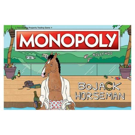 Monopoly BoJack Horseman Property Trading Board Game USAopoly