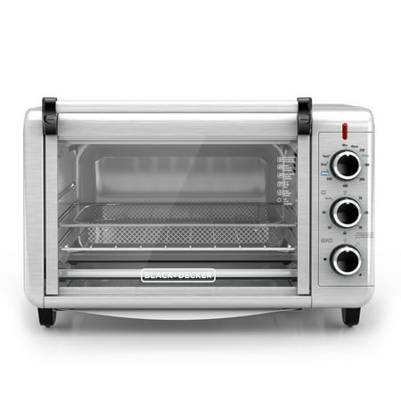 BLACK+DECKER Crisp N Bake Air Fry Toaster Oven TO3215SS