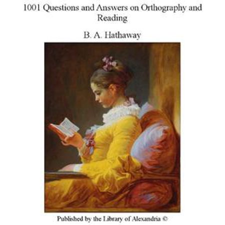 - 1001 Questions and Answers on Orthography and Reading - eBook