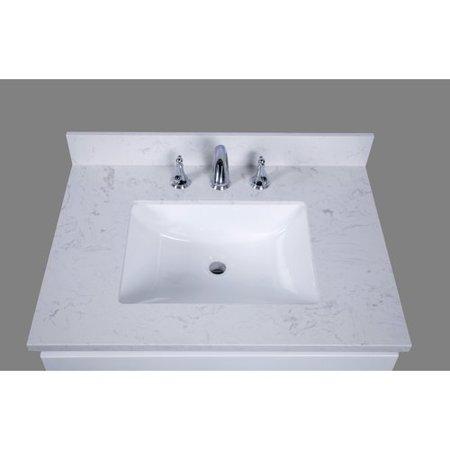 Outstanding Renaissance Vanity Bari 31 Single Bathroom Vanity Top Home Interior And Landscaping Ologienasavecom