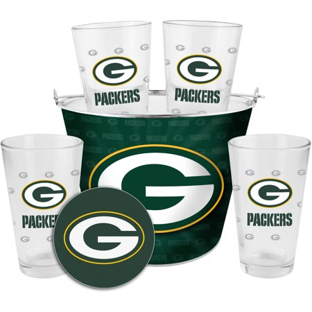 Boelter Brands NFL Gift Bucket Set, Green Bay Packers by