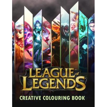 League Of Legends Creative Colouring  Lol  Lol  Creative Colouring  Gamer  Esports  Riot Games  Gaming  Gaming Books  League Of Legends  Twitch  Night