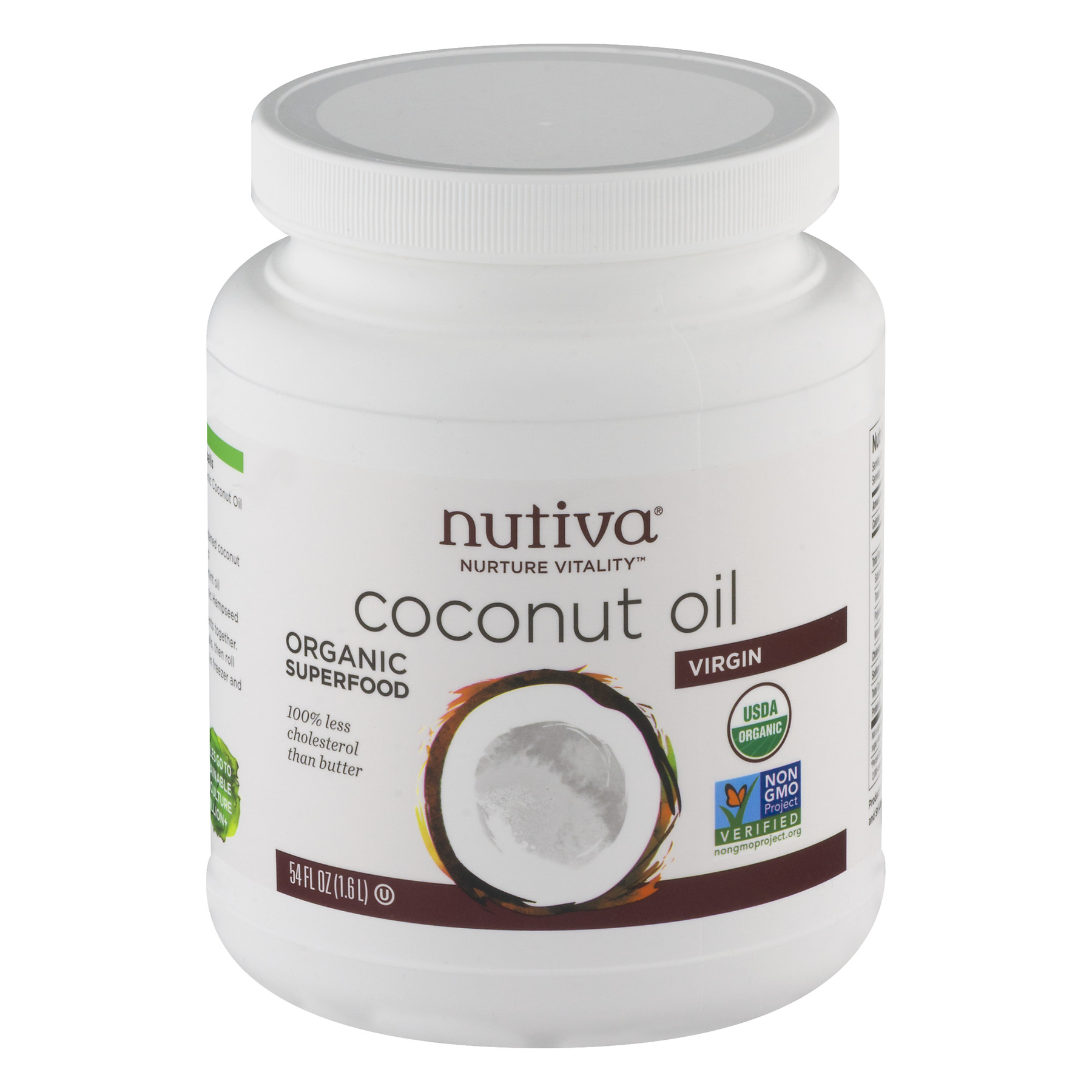 Nutiva Organic Superfood Virgin Coconut Oil, 54.0 FL OZ