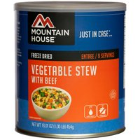 Mountain House Freeze Dried Vegetable Stew with Beef Can