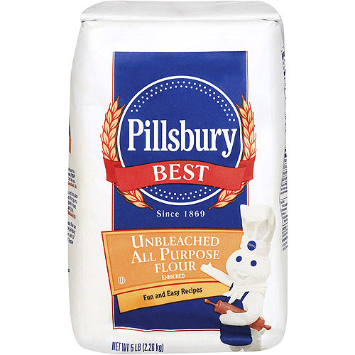 PILLSBURY NATURAL UNBLEACHED FLOUR 5 lb