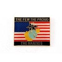USMC EGA The Few The Proud The Marines Lapel Hat Pin Military PPM765 (1 pin)
