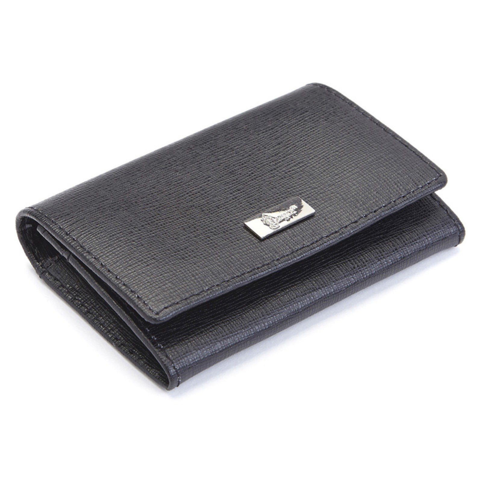 Royce Leather RFID Blocking Saffiano Leather Business Card Case - image 2 of 3