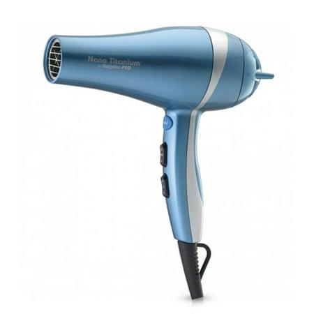BaByliss PRO BABNT5548 Nano Titanium Mid-Size Hair Dryer w/ 6 Heat/Speed