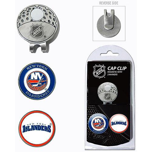 Team Golf NHL New York Islanders Cap Clip With 2 Golf Ball Markers
